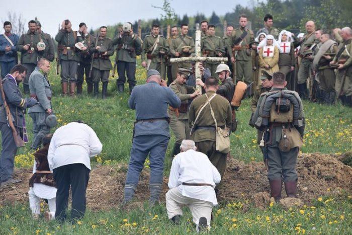 Rekonštrukcia bojov z prvej svetovej vojny