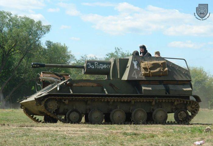 Rekonštrukcia bojov, Pohronský Ruskov